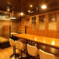 カフェの様な開放感ある店内!46名様までのご宴会も承ります!