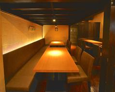 「大人の隠れ家」に相応しい落ち着いた店内【完全個室 誕生日 記念日 横浜 和食 居酒屋】