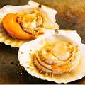 料理メニュー写真北海道産帆立バター/広島産大粒かきバター/大海老のバター焼き(2尾)
