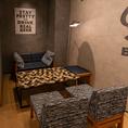 ◆少人数でのご利用にぴったりなテーブル席◆気軽に利用できるテーブル席。2~4名のお客様におすすめです。普段のお食事にもデートにも、飲み会にも使勝手がよく人気のお席です。岡山キッチンにいつでもお立ち寄りください♪