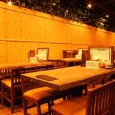 テーブルを移動して人数に合わせることもOK!普段使いのお食事からご宴会まで幅広いシーンに対応可能です。