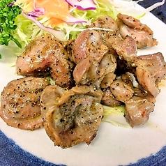砂肝ピリ辛炒め / 砂肝の唐揚げ