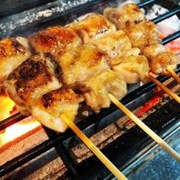 こだわりの食材を贅沢に炭火で焼き上げてご提供致します