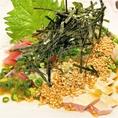 福岡名物「ゴマサバ」や、玄界灘で揉まれた「玄ちゃんアジ」など旬の魚介類をご用意してお待ちしております!