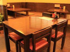 4人掛けテーブル席