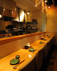 職人の技も楽しむことができる特等席【完全個室 誕生日 記念日 横浜 和食 居酒屋】