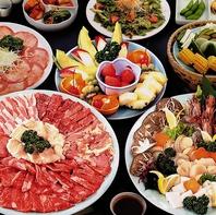 海鮮が味わえるコースも有◎お肉が苦手な方もご一緒に!