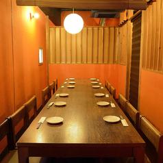 10名様からの個室の利用も可能ですグループでの飲み会のもぴったり!!