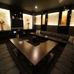 ■VIPパーティールーム■「ラグジュアリーなパーティールーム」落ち着いた大人の空間で贅沢な時間を過ごせます。