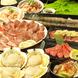 お肉も海鮮も…