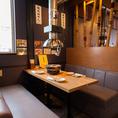 【虎乃門の魅力紹介 その5】《テーブル席・座敷席はそれぞれ1名様から利用可能!》 一人焼肉も大歓迎☆おひとりさまからご家族利用や各種宴会まで、幅広くご利用いただけます。