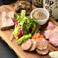 料理メニュー写真【ensoのお肉の前菜】自家製シャルキュトリー盛り合わせ 5種