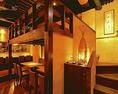 インテリアには、洗練された「和」を感じる【完全個室 誕生日 記念日 横浜 和食 居酒屋】