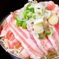 料理メニュー写真【人気NO.4】ねぎ塩豚もんじゃ