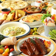 野菜ソムリエのシェフ監修の自慢のお料理