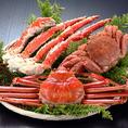 蟹料理を存分に味わえるコース5500円⇒4000円今大人気のコース♪その他コースも多数ご用意!! どのコースも数量限定なのでお早めのご予約がオススメです!!