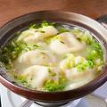 料理メニュー写真《餃子研究所の看板メニュー》肉汁白湯水餃子