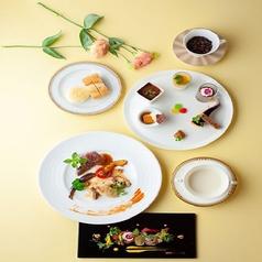 フランス料理 パルテールのコース写真