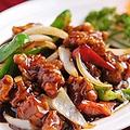 料理メニュー写真黒酢酢豚/豚肉ときくらげ玉子炒め/豚肉とキャベツ味噌炒め