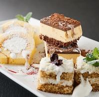 ドルチェやジェラート食べ放題などデザートまで大満足!