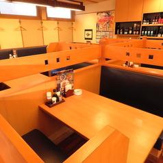 各種テーブル席を取り揃えています!ちょい飲みに最適!!