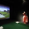ゴルフは予約も受け付けています!※1ブース1時間のご利用料金です♪平日¥4,500- 週末(金・土・祝前日)¥6,600-  明日ゴルフ行くので、予行練習♪とご利用頂ける方多数!メキメキ腕を上げちゃいましょう!