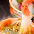 数量限定お試しコース蟹料理を存分に味わえるコース5500円⇒4000円!お早めのご予約がオススメ♪