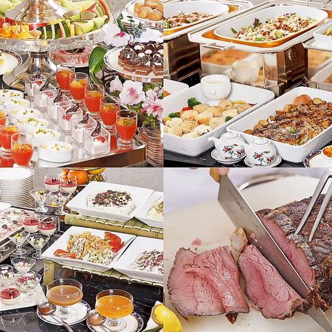 地元食材を生かした和・洋・中のFUSION料理。ホテルならではのビュッフェをご堪能♪