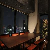 新宿摩天楼の夜景