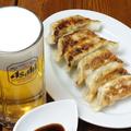料理メニュー写真餃子 English:Dumplings