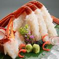 蟹料理を存分に味わえるコース5500円⇒4000円!を使用した特別コース♪ 歓送迎会、接待、会食様々なシーンにお使い下さいませ♪