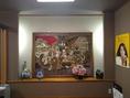 高級感溢れる壁画