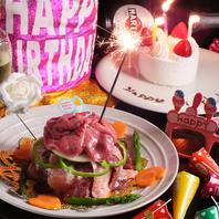 ≪誕生日に肉ケーキ!!!≫