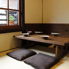 【2階】畳のお座敷はまるで家にいるかのようにほっと落ち着く…♪