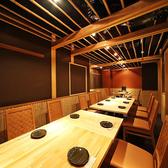 当店は、完全個室です♪10名様~14名様のテーブル席です。