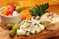 料理メニュー写真全国の野菜を使用した『香り高く味の濃い野菜前菜盛り合わせ』(2人前)