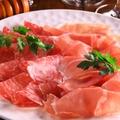 料理メニュー写真イタリア産 原木プロシュート