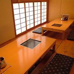 12名様向けの完全個室のお席です。忘年会など、各種ご宴会にも◎プライベートな空間で、周りを気にせずお食事をお楽しみいただけます。
