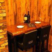 テーブル席は各種宴会やコンパ、女子会にも♪カウンター席もございます。