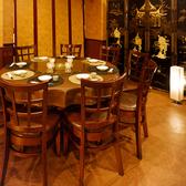 円卓を2卓ご用意している宴会スペースで各種宴会をどうぞ!半個室の御用意もあります。