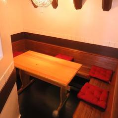【個室席】少人数に最適な個室席!感染対策にも◎