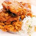 料理メニュー写真鶏肉の唐揚げ