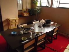 一人からでもテーブル席か座敷を選べます。美味しい米沢牛料理をゆっくりと楽しもう♪