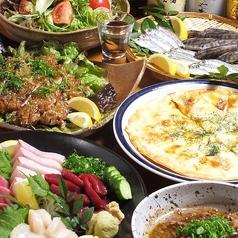 海鮮 旬菜 久すのせのコース写真