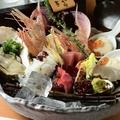 料理メニュー写真海鮮色々盛合せ五種/三種