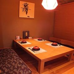雰囲気の良いお座敷個室です。