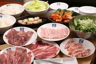 大人気の食べ放題は2980円(税別)~!