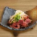 料理メニュー写真鹿児島県産 種鶏の砂肝刺し  低温調理