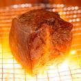 【赤身塊肉】牛一頭からわずか数キロずつしか取れない、希少部位。鮮度が良く、表面を炙るだけで十分お召し上がり頂けます。
