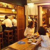 【1階】女子会や一人飲みにも◎テーブルやカウンターもあります!